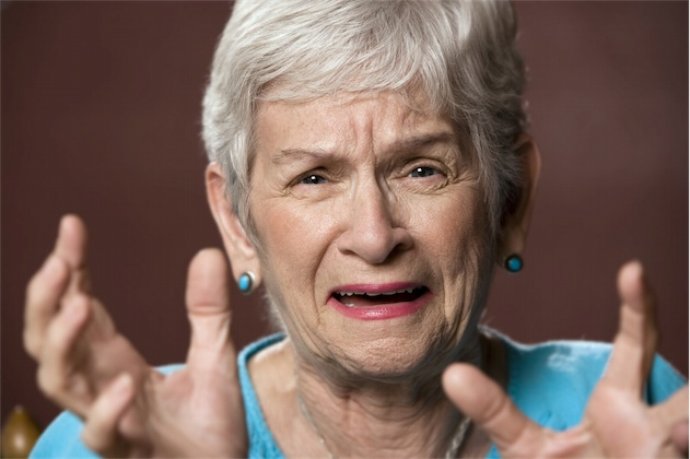 elderly often get upset and have crisis which needs de-escalation