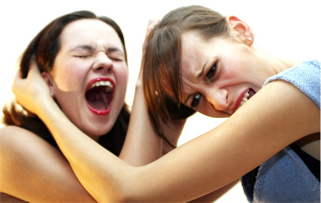 restraining girls fighting because of behavior problems can be prevented